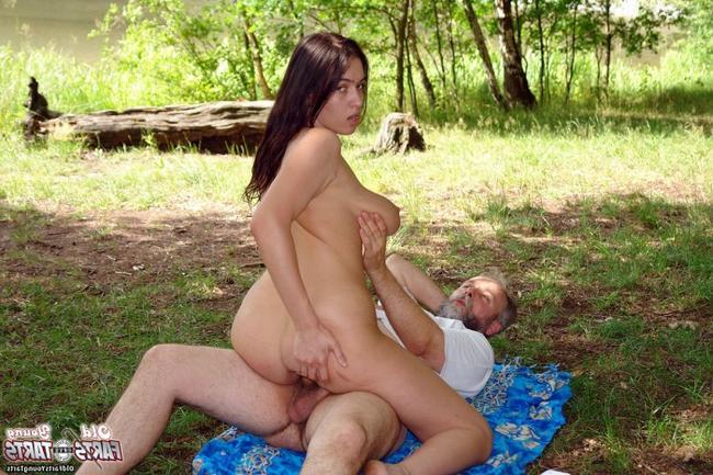 лес старый в привел дед проститутку